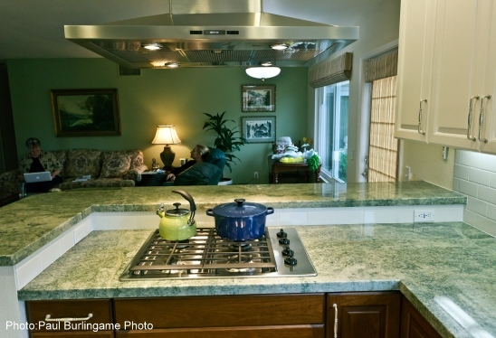... > Products > Kitchen Products > Contrasting Countertops Aid Vision