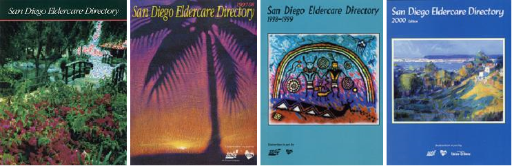 The 1996 through 2000 editions of the San Diego Eldercare Directory published by ReVisions Resources