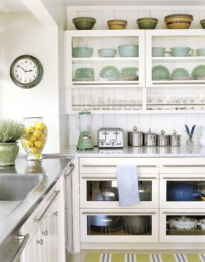 While Solid Cabinet Doors Provide A Certain Beauty In Their Simplicity,  Their Very Ability To Hide Their Contents Can Make A Kitchen ...