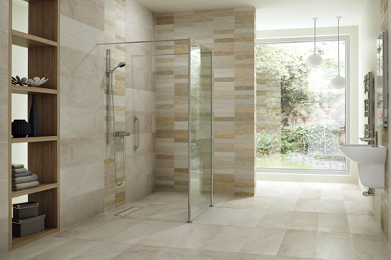 Five ways to add a great shower space